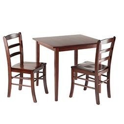Groveland 3pc Square Dining Table with 2 Chairs Groveland 3p