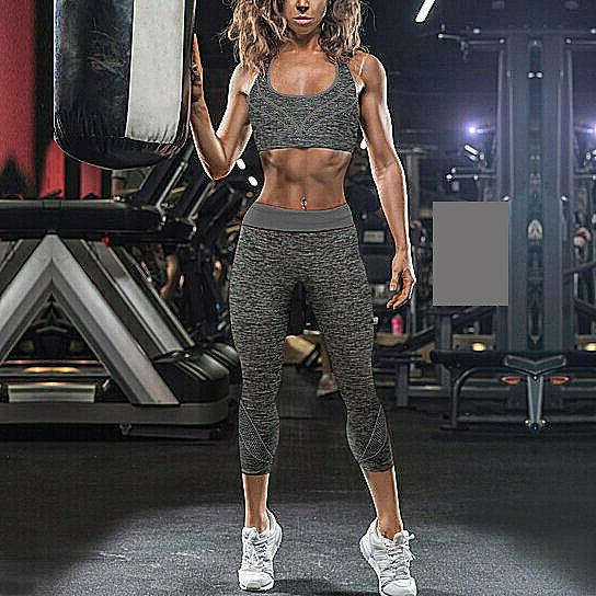 2-Piece: Gym Fitness Workout Sports & Leggings