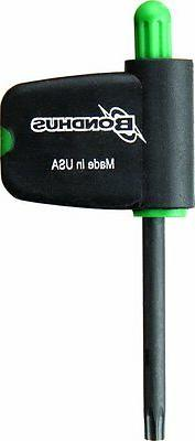 Bondhus 34406 T6 Star Tip Flag Handle Driver with ProGuard F